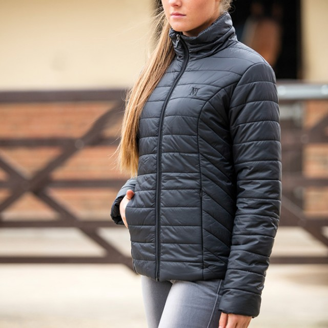 Mark Todd Ladies Quilted Rhapsody Jacket (Black)