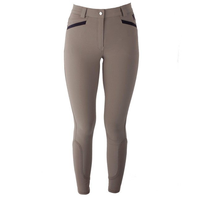 Mark Todd Women's London Breeches (Taupe/Navy)