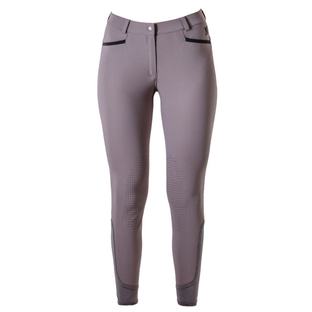 Mark Todd Women's London Breeches (Grey/Black)
