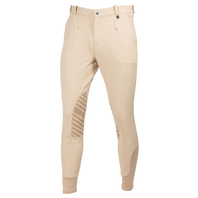 Mark Todd Men's Coolmax Grip Breeches (Beige)