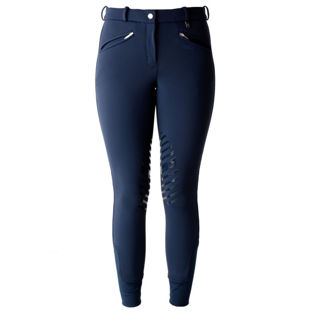 Mark Todd Women's Winter Performance Breeches (Navy)