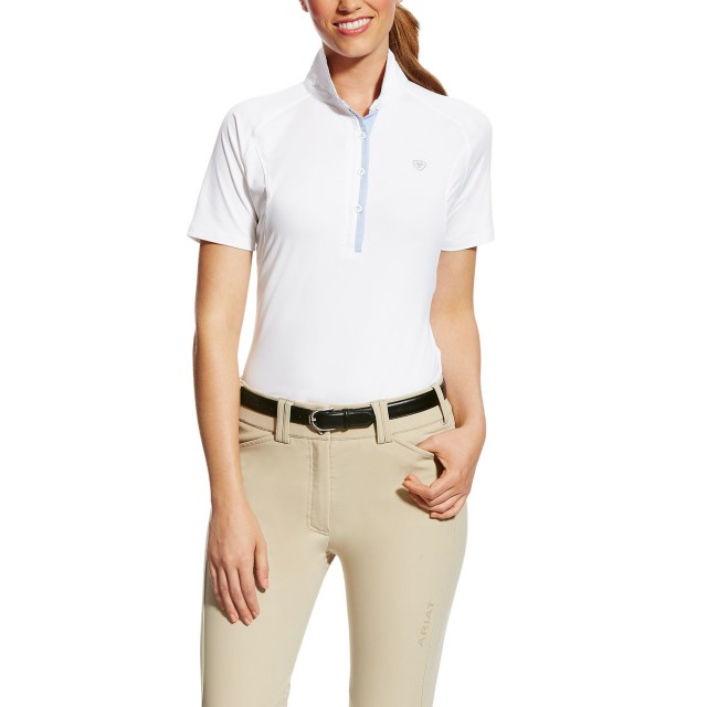 Ariat (Sample) Women's Marquis SS Show Shirt (White)