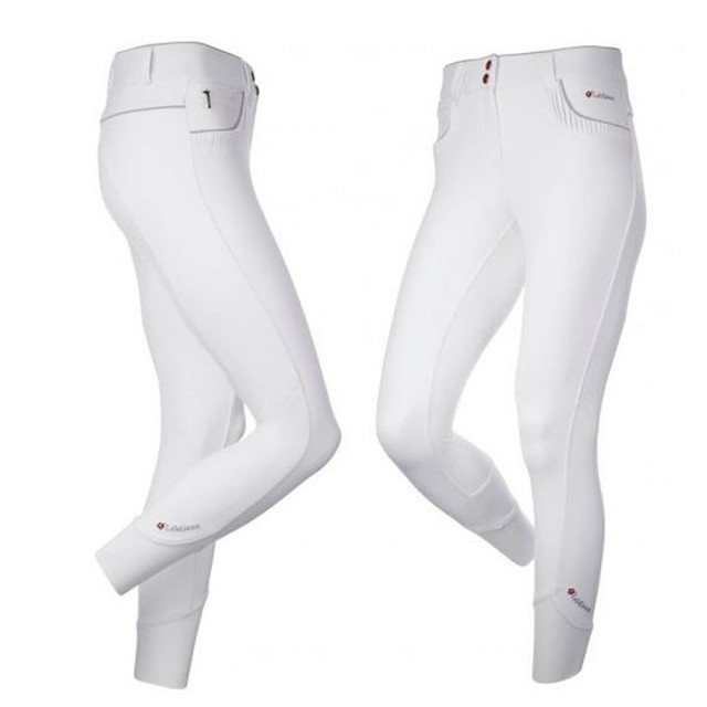 LeMieux Women's Engage Full Seat Breeches (White/Grey)
