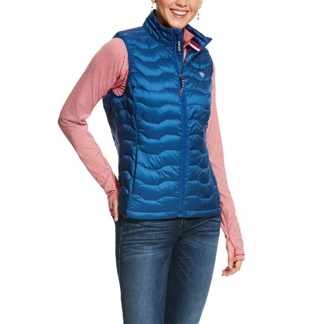 Ariat Women's Ideal 3.0 Down Vest (Vertical Blue)