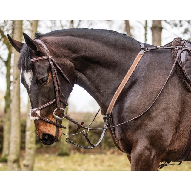 Mark Todd 3-Point Breastplate (Black)
