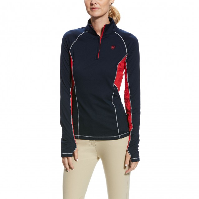 Ariat Women's Lowell 2.0 1/4 Zip Base Layer (Team)