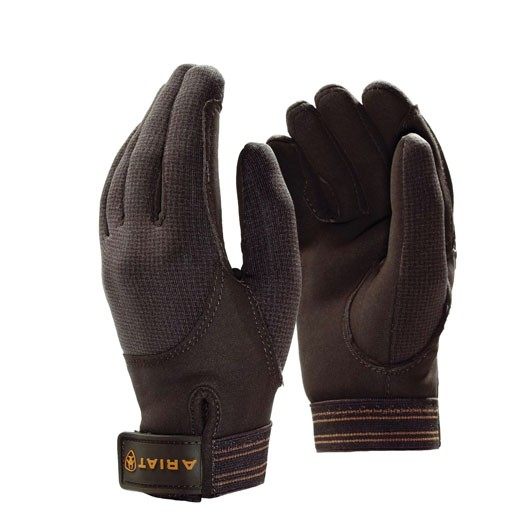 Ariat Adults Insulated Tek Grip Gloves (Bark)