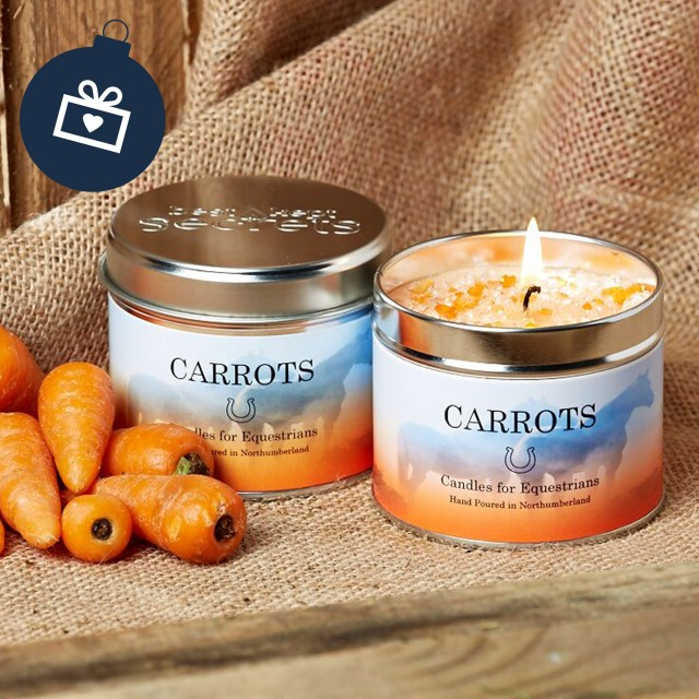 Scented Candle (Carrots)