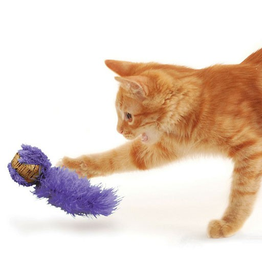 Kong Cat Cork Ball (Assorted Colours)