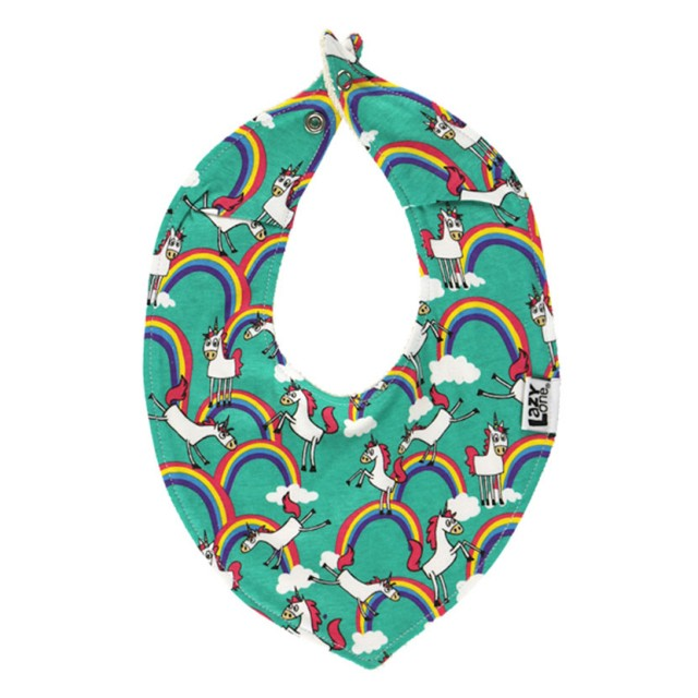 LazyOne Girls Bandana Baby Bib (Unicorn)