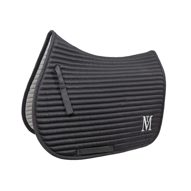 Mark Todd Quilted Saddle Pad (Black/Silver)